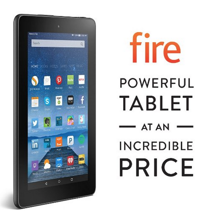 Amazon Fire 8GB Tablet with 7″ Display and Wi-Fi Only $49.99 Shipped!