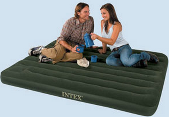 Intex Downy Airbed with Built-in Foot Pump, Twin Only $12.88 (Reg. $24.99!)