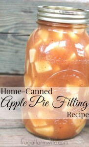 apple-pie filling