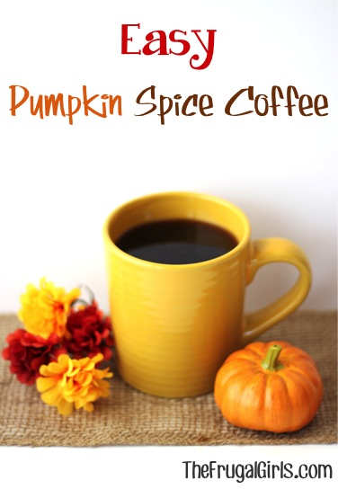 5 Frugal Pumpkin Spice Coffee Recipes