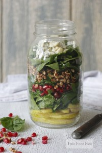 Pomegranate and Pear Salad. Via Buzzfeed.com.