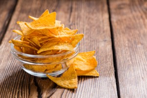 Snag a coupon for FREE tortilla chips today. Via Shutterstock.