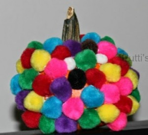 Pompom pumpkin from Putti's World