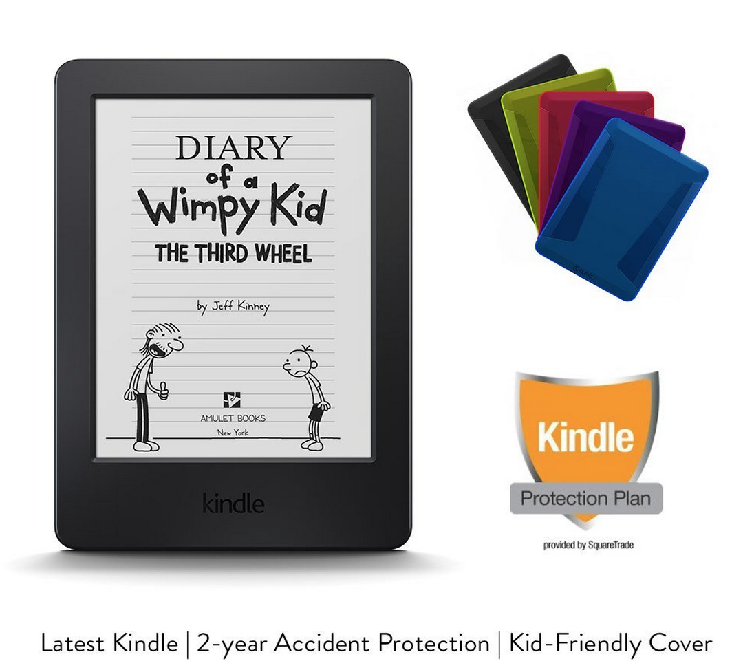 Amazon Kids Kindle Bundle Only $79.99 (Kindle, 2 Year Accident Protection, & Kid Friendly Cover) + More Kindle Deals!