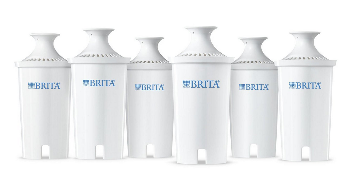 6-Pack of Brita Water Filter Pitcher Advanced Replacement Filters Only $19.79 (Reg. $40.99!) – Just $3.30 Each!
