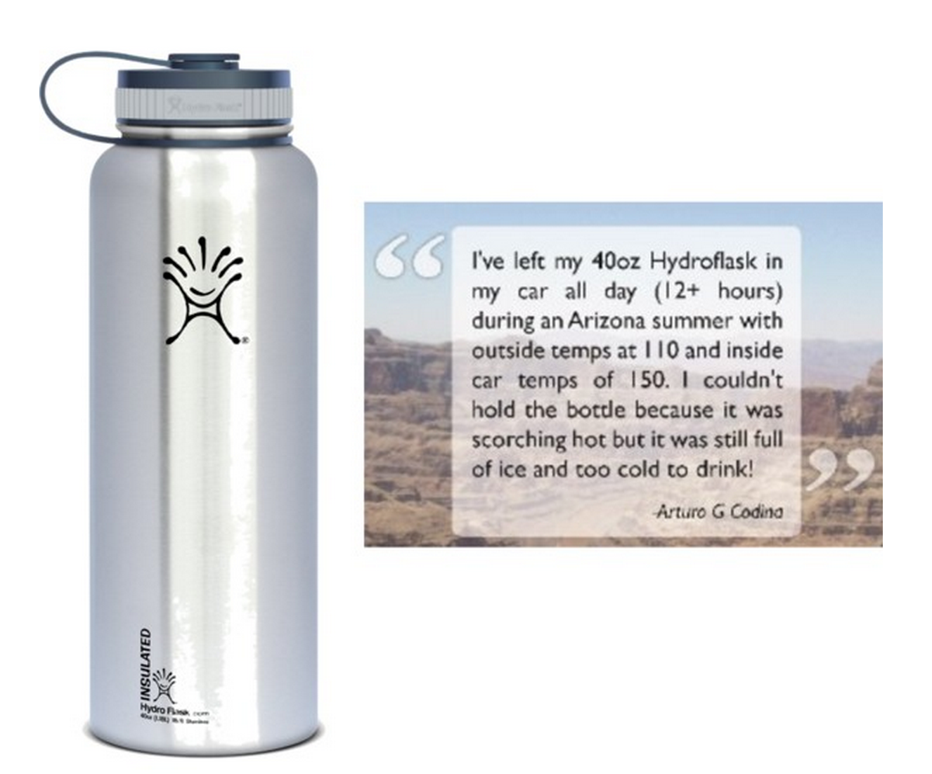 Hydro Flask Insulated Stainless Steel Water Bottle Only $26.70 (Amazing Reviews!)