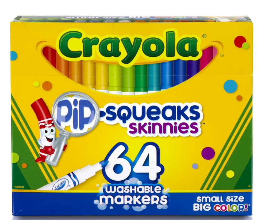 Crayola 64 Ct Washable Markers Only $8 (Reg. $13.99!)