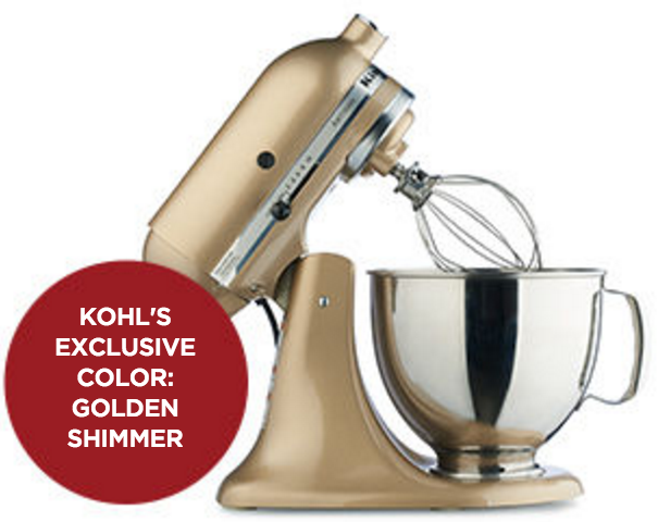 Kohl's Cardholders: KitchenAid 5-Quart Stand Mixer Only $187.99 (Reg. $349.99!)