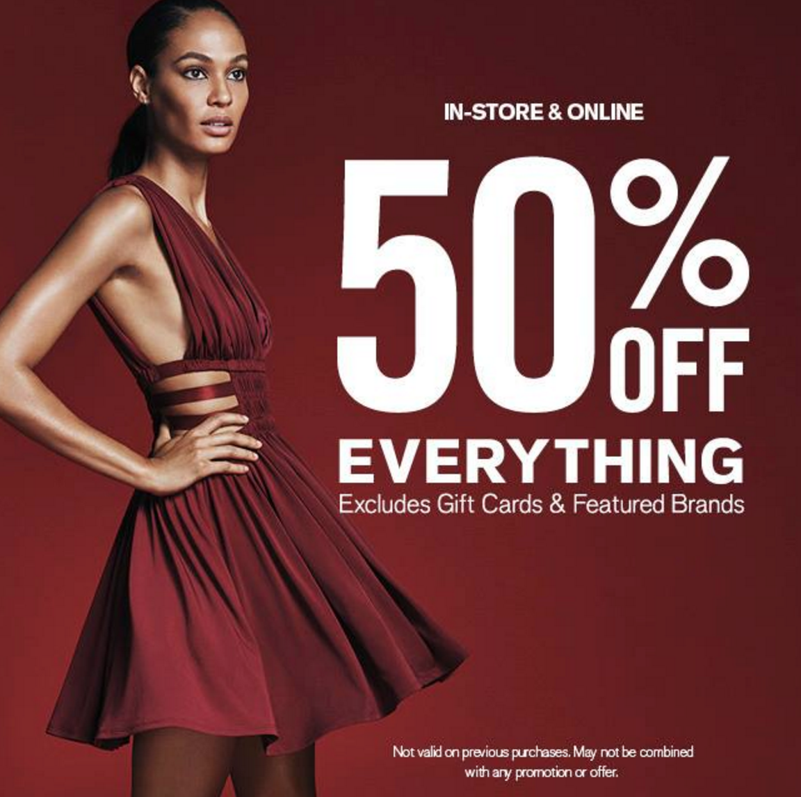 Express: 50% Off Sale – Sweaters, Coats, Jeans & More!