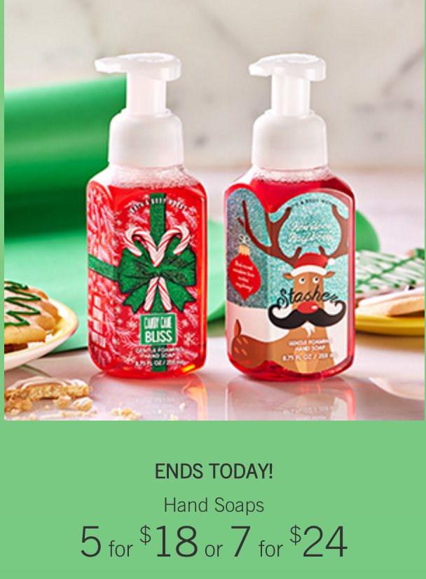 Bath & Body Works: Hand Soap As Low As $2.15 Shipped!