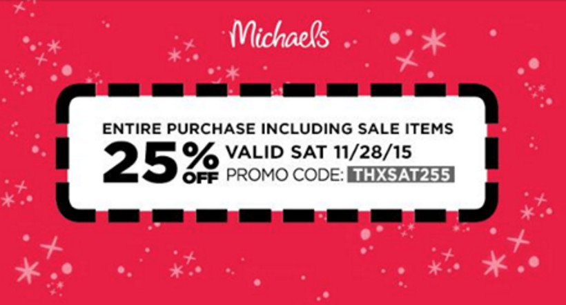 Oct 04,  · 20% Off Michaels Coupon – Total Purchase Printable: Get 20% off your entire purchase including sale items in Michaels Craft agencja-nieruchomosci.tk valid on every day value items and door busters. 30% Off Your Total Purchase Of Regular Price Items/5().