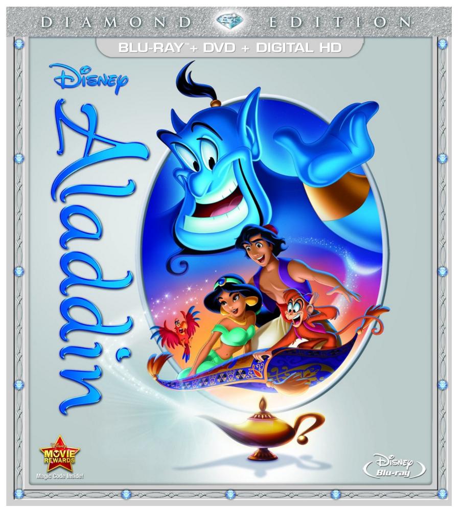 Aladdin: Diamond Edition Blu-ray + DVD Only $13.18 (Reg. $39.99!)
