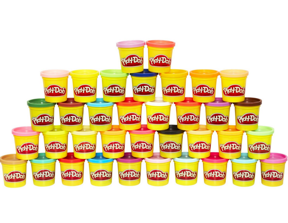 50% Off Select Hasbro Toys = Play Doh Mega Pack (36 Cans) Only $12.99 (Reg. $21.99!)