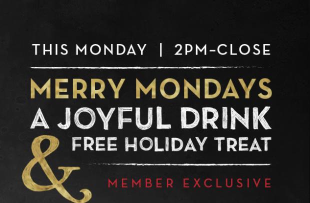 Monday Freebies – Free Starbucks Holiday Treat w/Purchase
