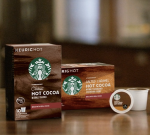 Grab a FREE sample of these NEW Starbucks Hot Cocoa K-Cups today!