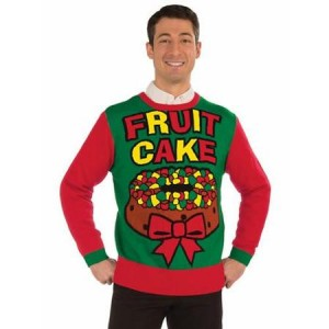 Fruit cake sweater