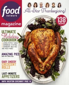 Grab a FREE Food Network Magazine subscription today!