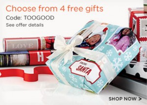 Choose from 4 FREE photo gifts from Shutterfly today!