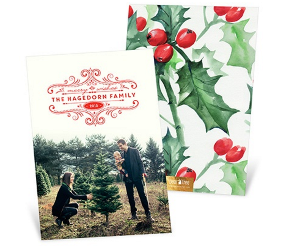 Pear Tree: 30% Off $30 Purchase = Nice Deals on Christmas Cards!