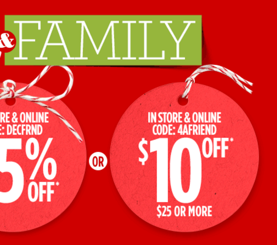 JCPenney: $10 Off $25 Order!