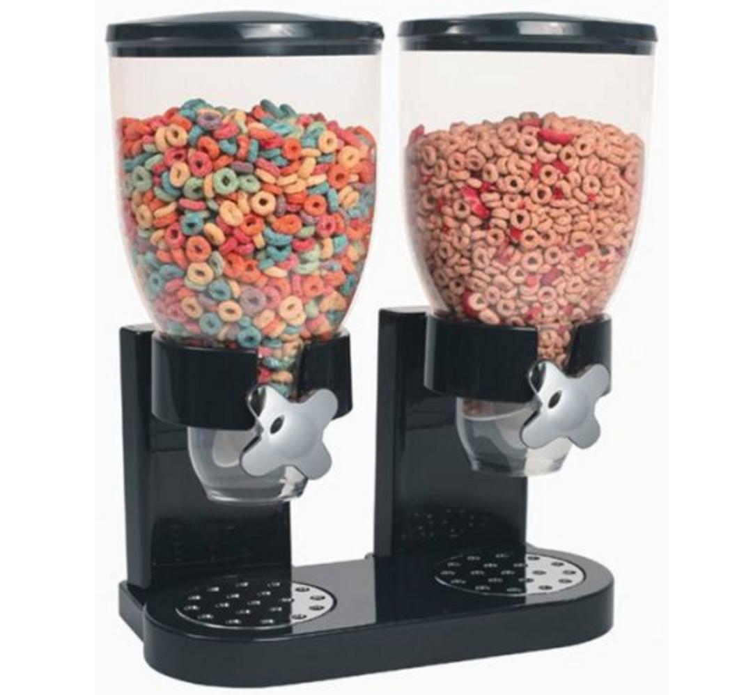 Dual Dry Food Dispenser