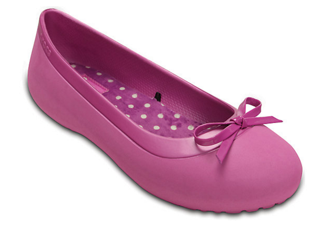 Crocs: Women's Mammoth Bow Flat Only $9.99 (Reg. $39.99!)
