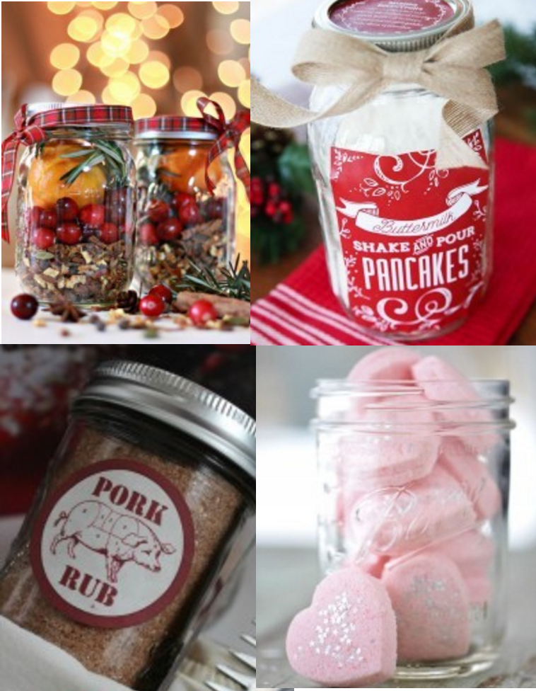 10 Holiday Gifts in a Jar – Easy & Inexpensive!