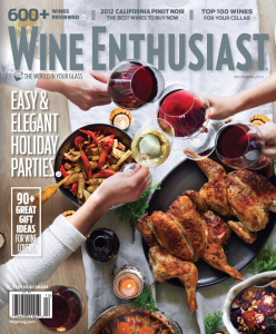 Get a FREE Wine Enthusiast Magazine Subscription today.