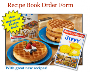 Request a FREE Jiffy Recipe Book today.