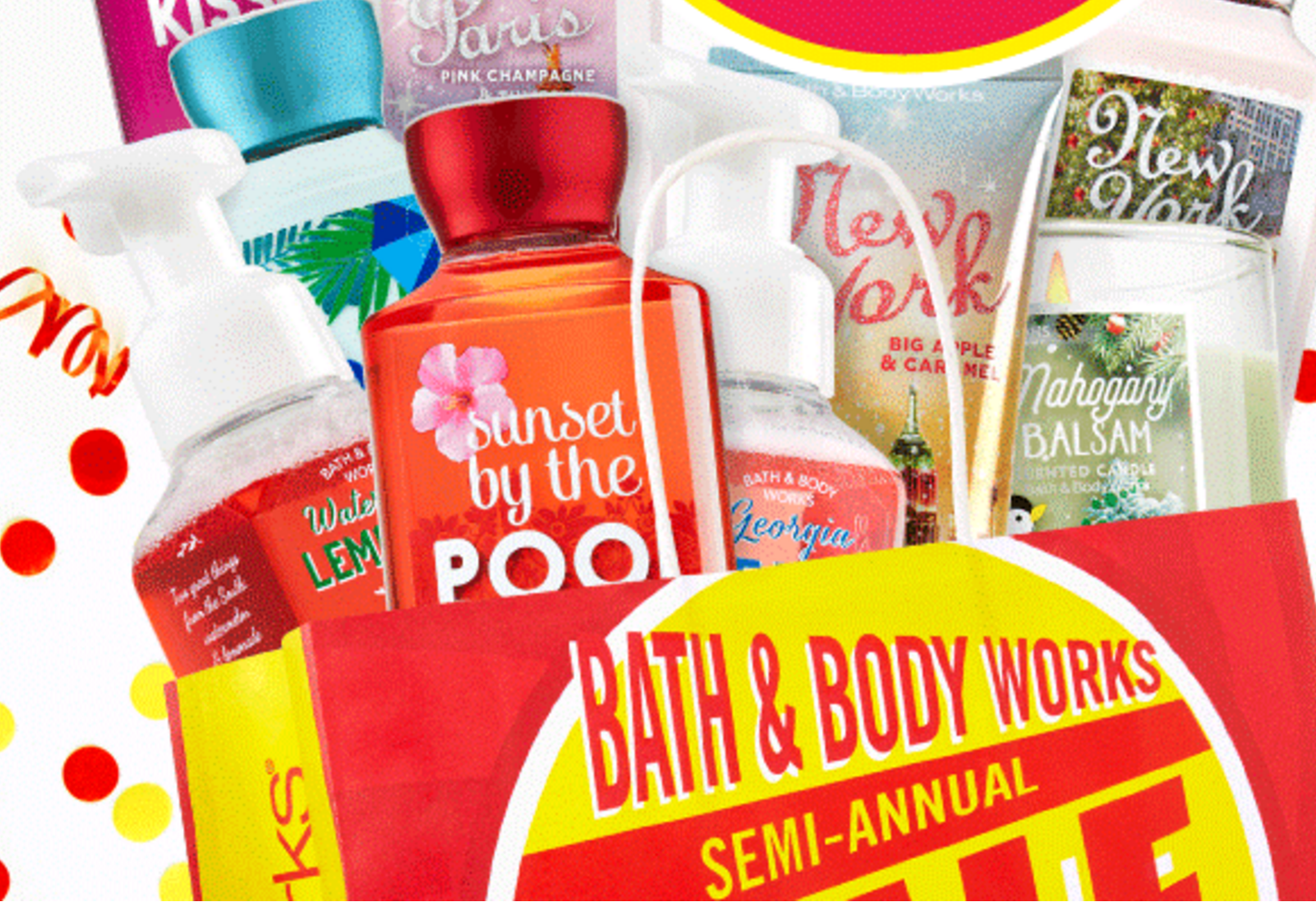 Bath & Body Works: Semi-Annual Sale (Last Day!)