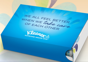 Get a FREE Kleenex care package today!