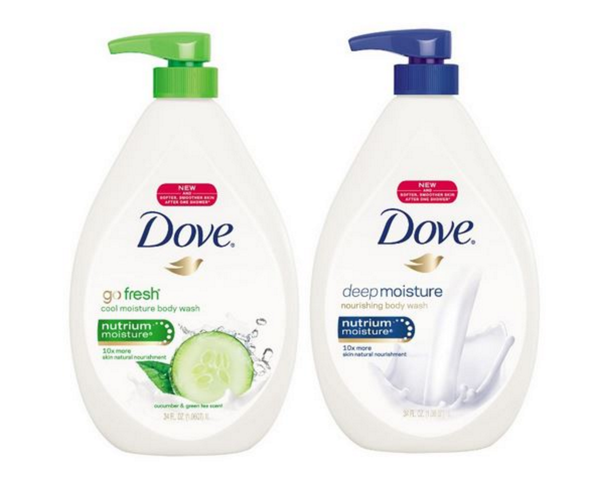 HUGE 34 Oz. Dove Body Wash Only $5.49 Shipped!