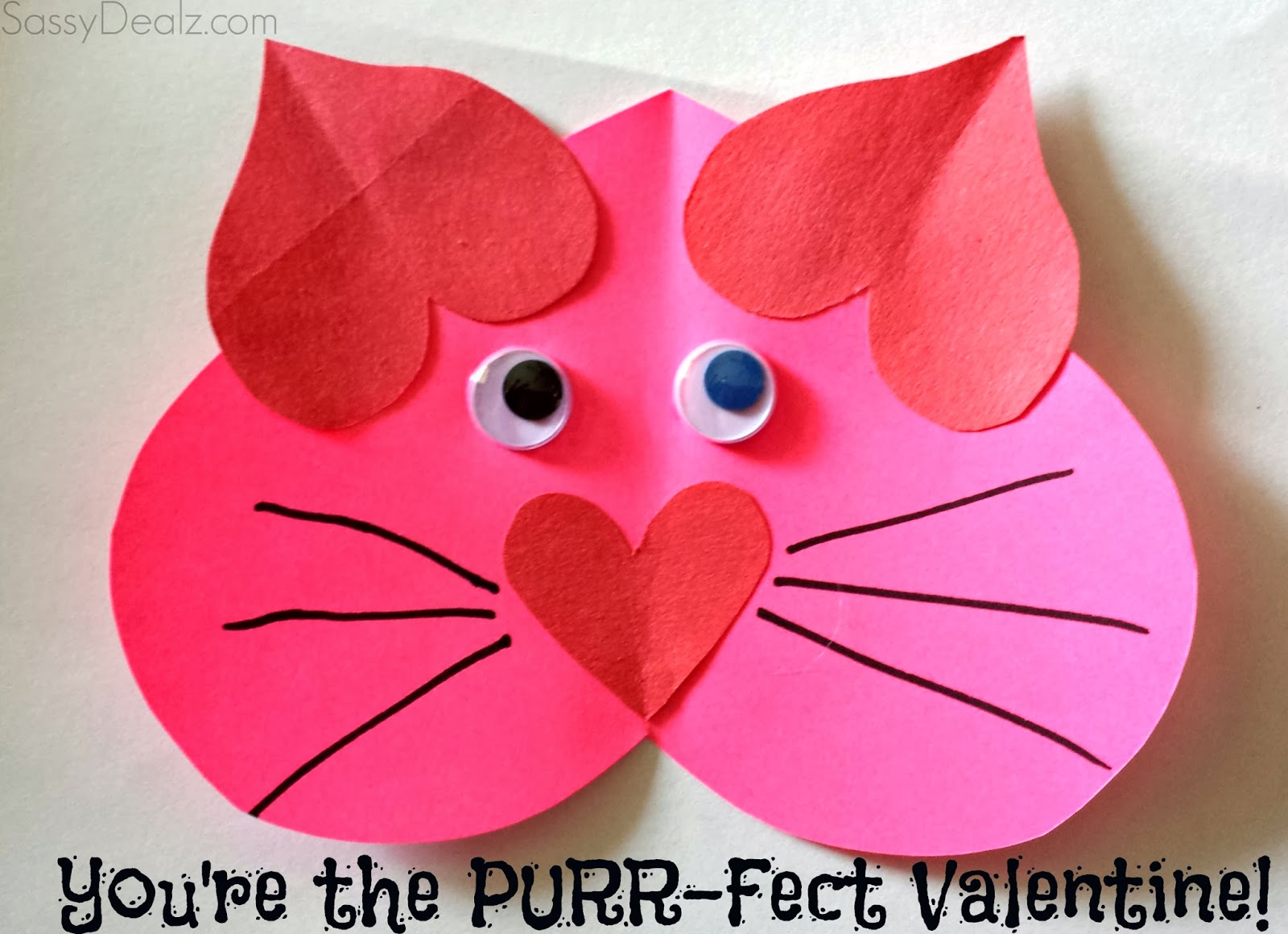 5 easy and fun homemade valentines kids can make for Valentine crafts for kindergarteners
