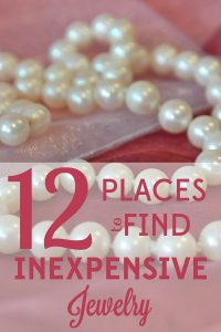 You don't have to pay an arm and a leg for high quality jewelry. We found 12 places to buy beautiful but inexpensive jewelry.