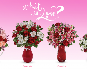 Teleflora: 25% Off Valentine's Day Bouquets!