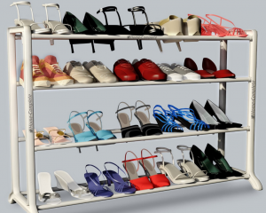 Neatlizer Shoe Rack Organizer Storage Bench Only $11.99 (Reg. $52.67!)