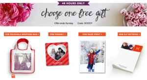 Snag a FREE personalized photo gift from Shutterfly today!