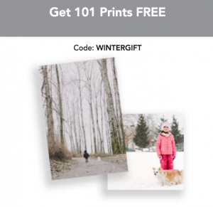 Get 101 FREE photo prints today.