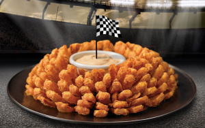 Score a FREE Bloomin' Onion at Outback Steakhouse today. Yum!