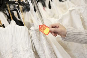 ways to save on your wedding gown