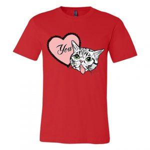 Lil Bub Valentine's Day tee