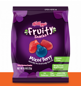 Get FREE Kellogg's Fruity Snacks today.