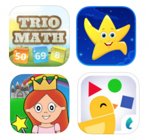 Download 18 FREE kids apps today!