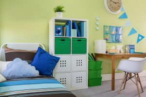 keeping your child's room organized