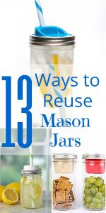 13 Ways to Reuse Mason Jars