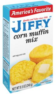 Score FREE Jiffy corn muffin mix today. Yum!