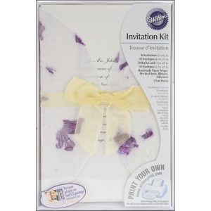 wilton invitation kit