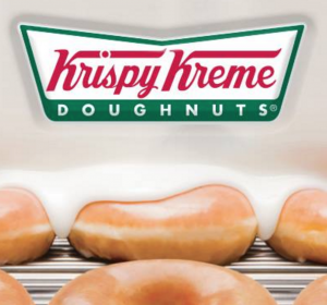 Get a FREE doughnut at Krispy Kreme today. Yum!