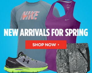 Sports Authority: 20% Off All Orders