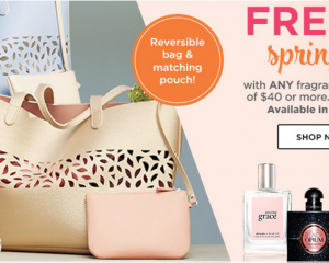 Ulta: Free Spring Bag with Fragrance Purchase!